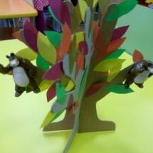 Дерево-ловишка с липучками